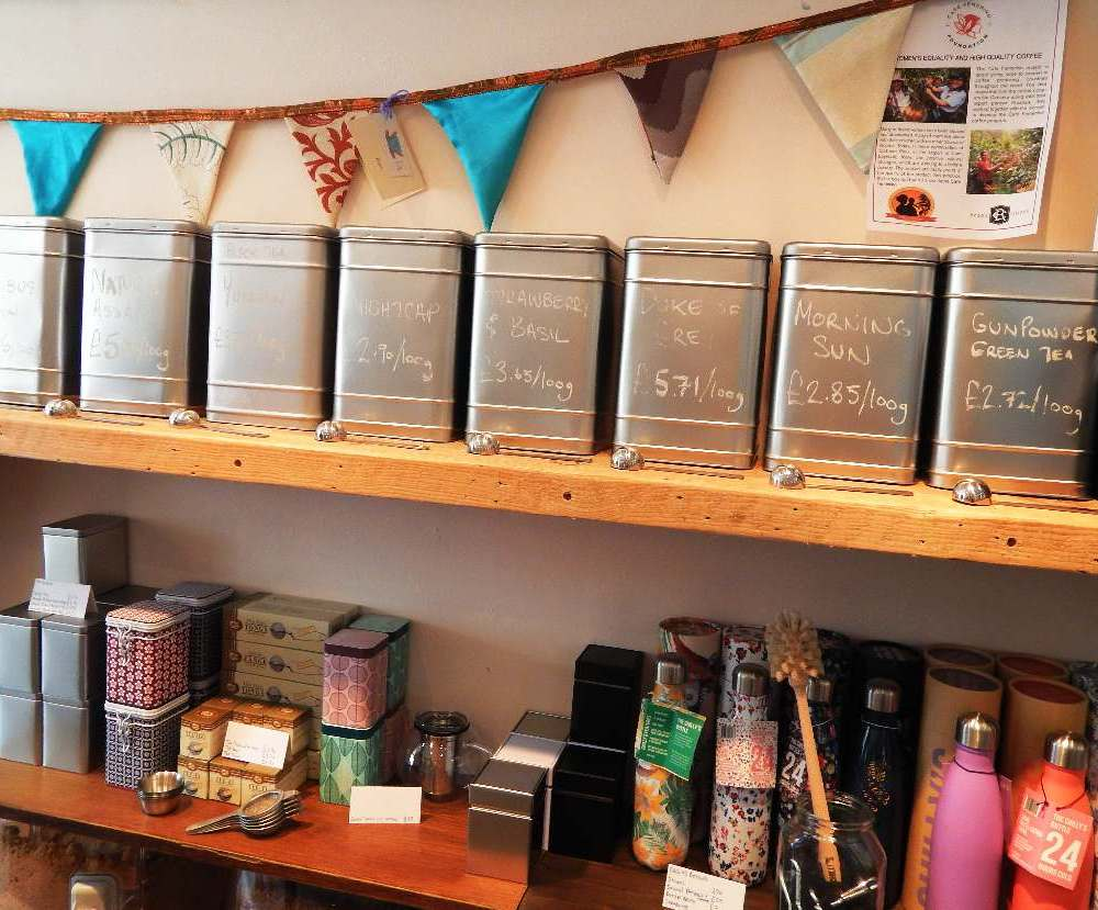 There's a zero waste shop in Bridport + it's totally awesome