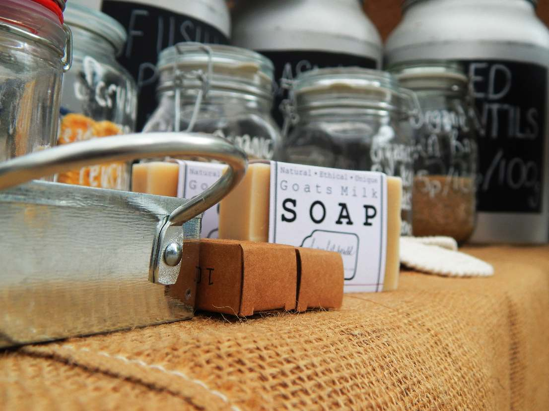 Soap and other low waste goods