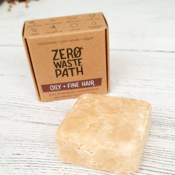 2 in1 shampoo bar oily and fine hair