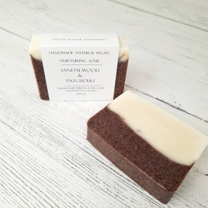 Sandalwood and Patchouli Natural Soap Bar