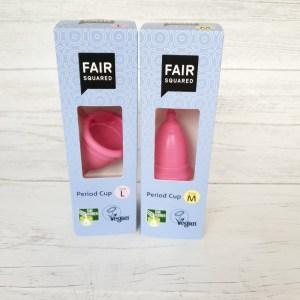 Fair Squared menstrual cup