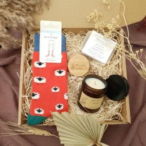 Recharge plastic free gift set for men