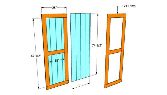 31 Ideas and Free Plans On How To Build A Shed Door