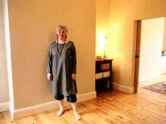 Long wool tunic