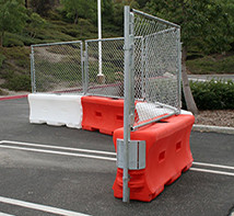 Plastic Jersey Barriers