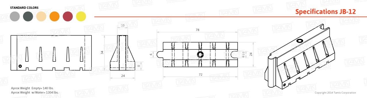 JB-11 Spec Drawing