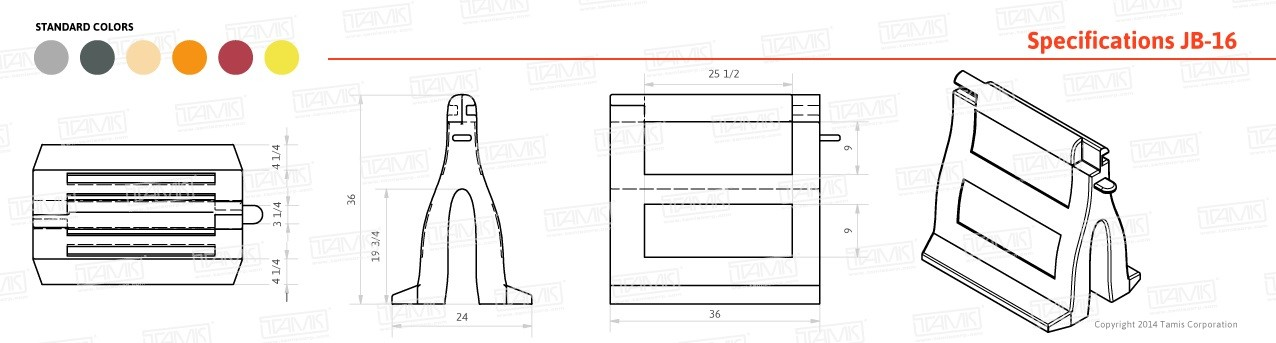 Mobil-Cade Barrier Specifications