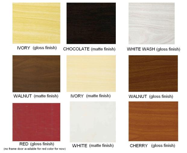 COLOR GUIDE PVC