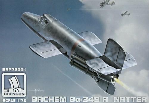 Avión-Cohete experimental alemán Bachen Ba-349A Natter