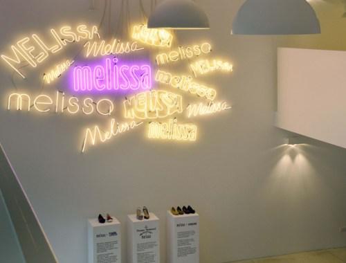 melissa showroom in Milan