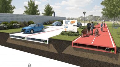 Foto de Rússia, Holanda e Índia investem em rodovias de plástico