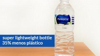 Foto de Plastipak desenvolve embalagem com 35% menos plástico em parceria com a Puríssima Água Mineral