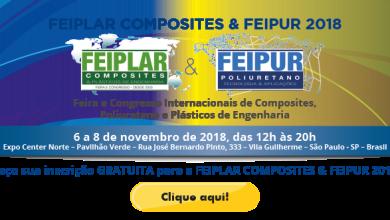 Foto de FEIPLAR COMPOSITES & FEIPUR ocorre entre os dias 6 e 8 de novembro