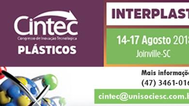 Foto de Congresso de Inovação Tecnológica – CINTEC 2018 Plásticos