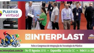 Foto de Interplast 2018 começa amanhã (14/08)
