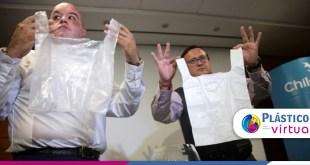 Sacos plásticos solúveis em água são desenvolvidos por chilenos