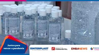 Foto de [COVID-19]: Empresa de produtos químicos passa a fabricar álcool gel