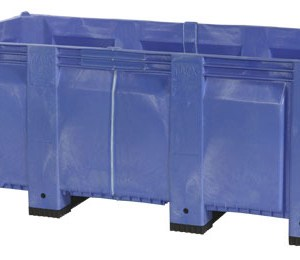 Lengthened fixed wall container