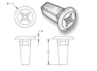 Grommet Nut-Special Items Plastic Fasteners Distributors