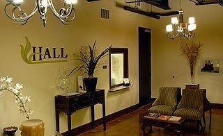 Hall Plastic Surgery Austin Waiting Room