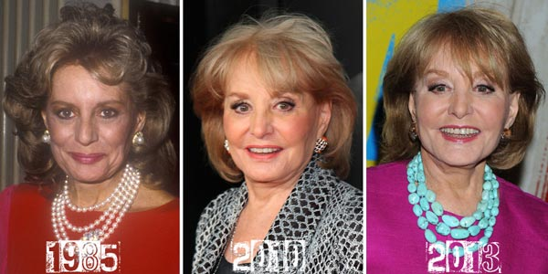 Barbara Walters Plastic Surgery Before & After