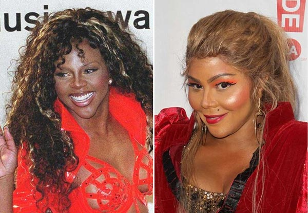 Lil Kim Bad Plastic Surgery