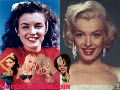 Marilyn Monroe Plastic Surgery Before & After