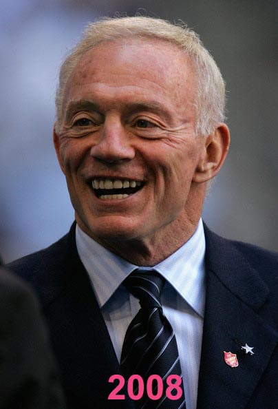 Jerry Jones Plastic Surgery Photos