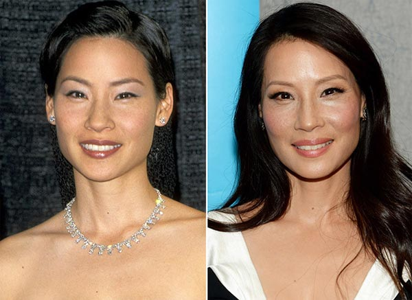 Lucy Liu Plastic Surgery Pictures