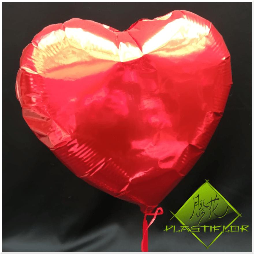 Ballon coeur à l'hélium ©Plastiflor