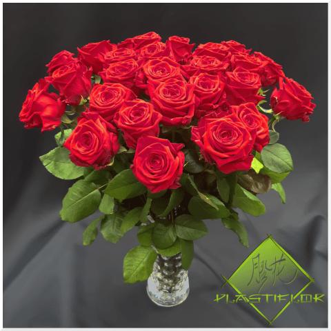 Bouquet Roses rouges ©Plastiflor