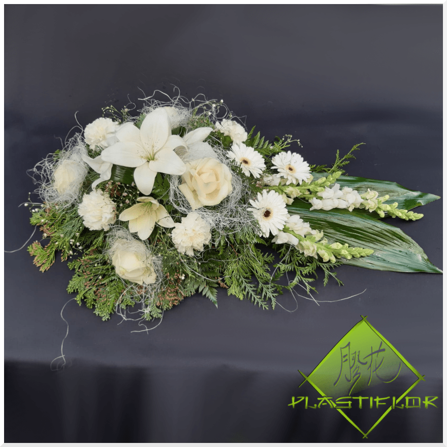Gerbe White Elegance ©Plastiflor