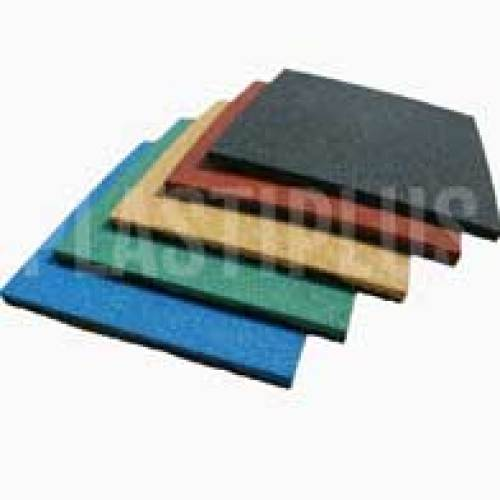 Резиновая плитка для игровых площадок и спортзалов
