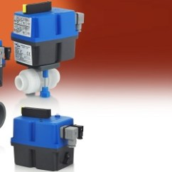 2 Way Wiring Diagram Typical Thoracic Vertebrae Electric Ball Valve Actuators For Plastic Valves