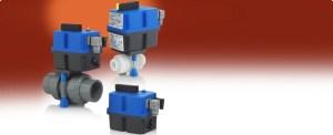 Electric Ball Valve Actuators for Plastic Valves