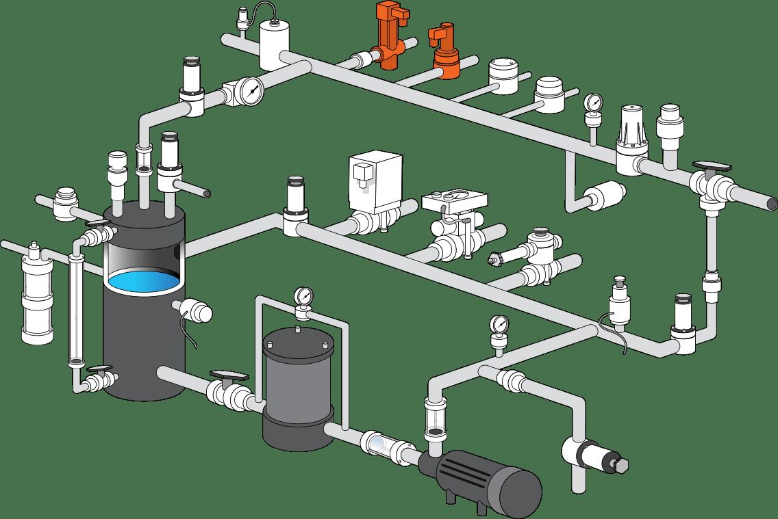 Water Meter Bypass Diagram