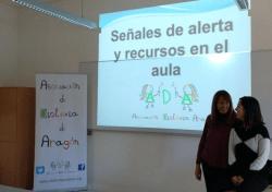 Curso de dislexia en la Universidad de Zaragoza