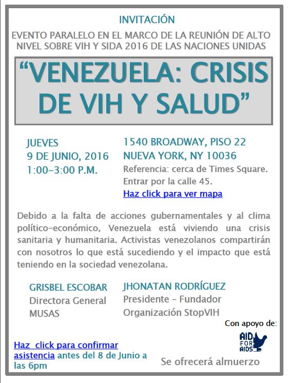 Panfleto_Evento Paralelo_Venezuela