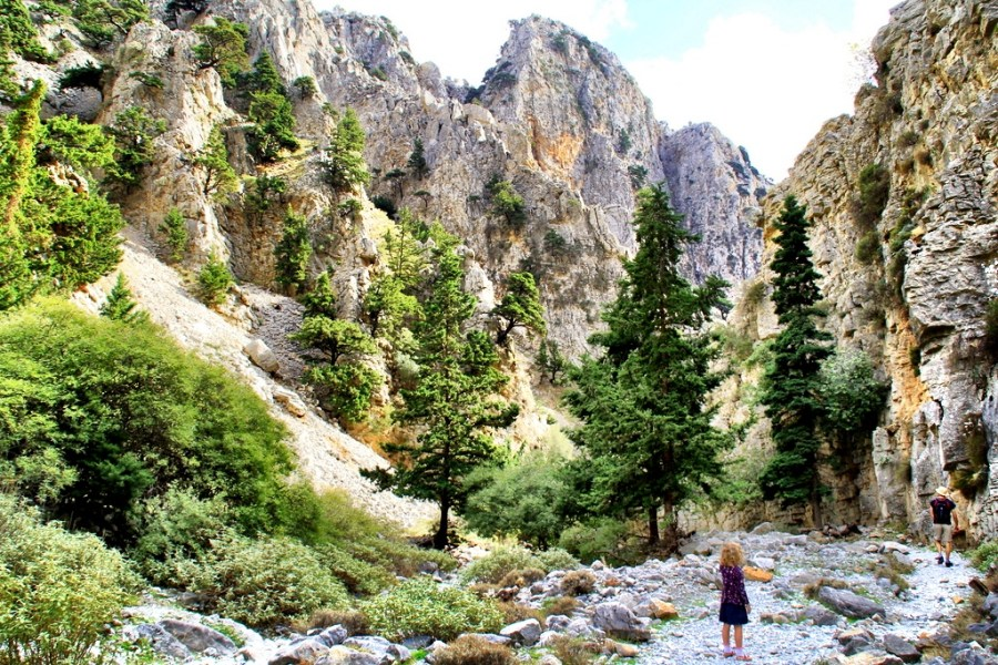 Path of Imbros Gorge