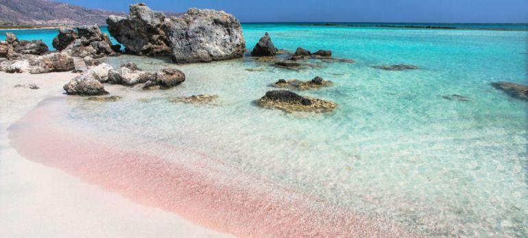 Elafonissi Beach Crete Greece