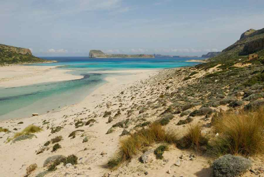 Balos beach Chania Crete