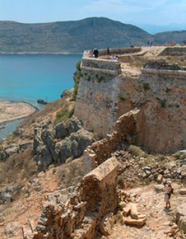 Gramvousa Castle Chania Crete