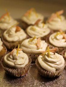 Cupcake avec décor nature