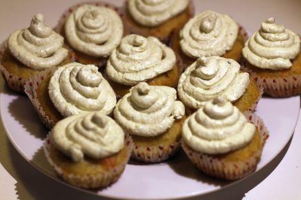 Cupcake avec décor à l'oseille