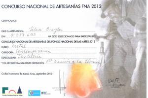 2012Mención FNA