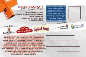 DIALOGHI INCANTATI  Verona Italia