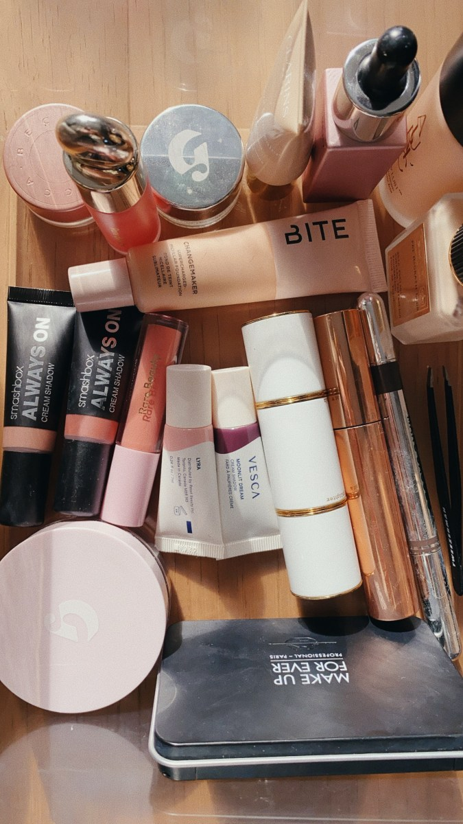 A collection of my everyday makeup