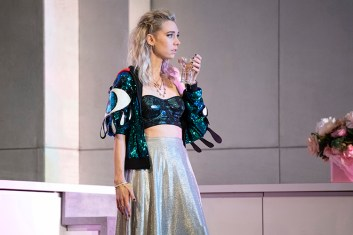 NTL 2018 Julie at the National Theatre. Vanessa Kirby as Julie (c) Richard H Smith