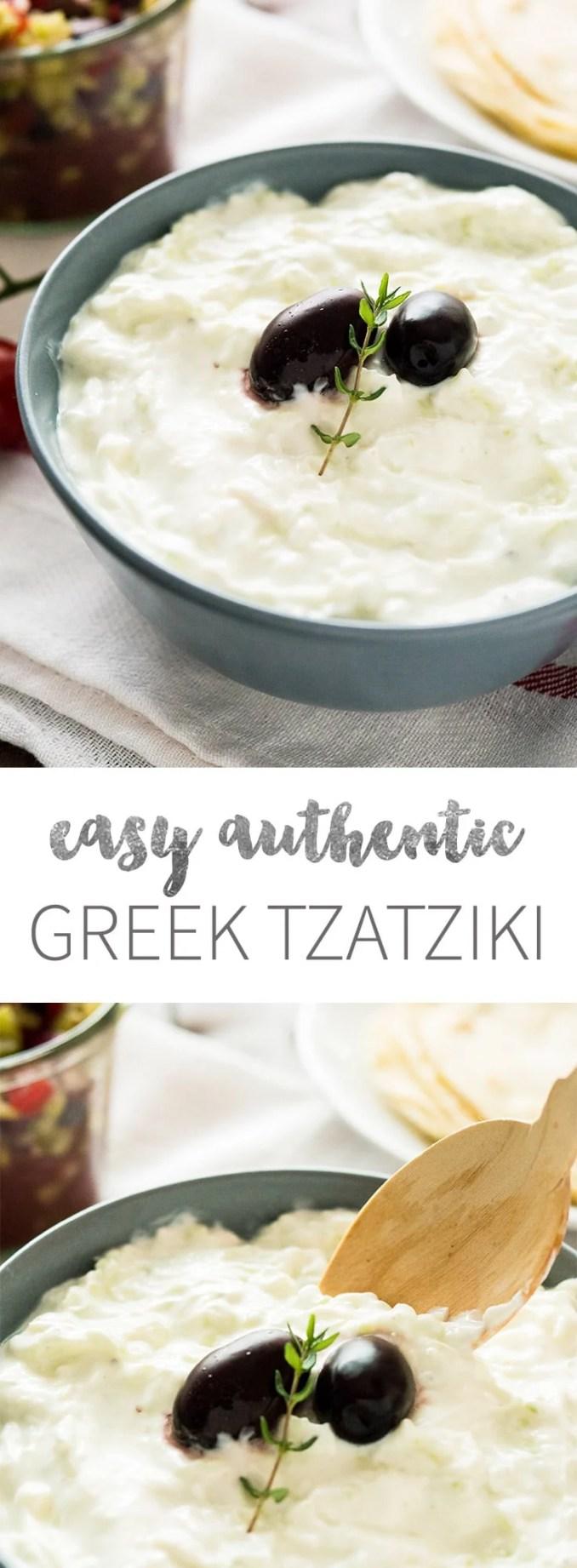 Tzatziki Sauce Recipe | Plated Cravings