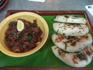 Kerala Beef and Bao Uthapam